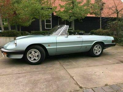 gebraucht Alfa Romeo Spider 2.0 Cabrio 1985 112300km als Cabrio/Roadster in Gronau (Westfalen)