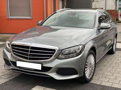 gebraucht Mercedes C220 T BlueTEC / Jung Stern Gerantie Euro6 / Exclusive