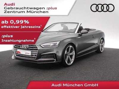 gebraucht Audi A5 Cabriolet 40 TFSI 3x S line Matrix/B&O/Leder/SitzHzg