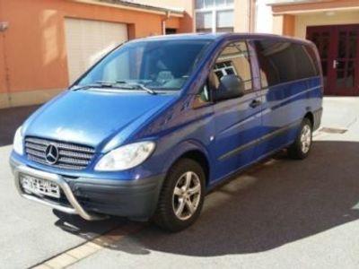 gebraucht Mercedes Vito 111 CDI Lang DPF 9Sitzer Klima Ahk
