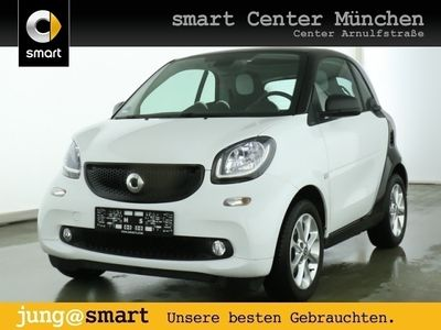 gebraucht Smart ForTwo Coupé 52kW passion cool&Audio SHZ Pano LED