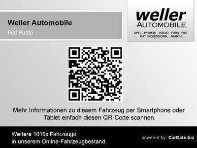 gebraucht Fiat Punto 0.9 TwinAir Pop Klima Parksensoren Bluetooth