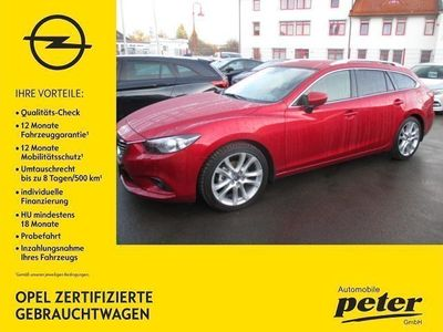 gebraucht Mazda 6 2.5 Sports-Line Automatik 192PS Navi/Autom.