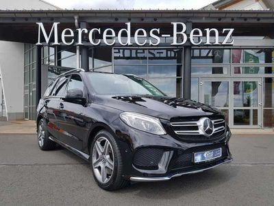 gebraucht Mercedes GLE500 +9G+AMG+DISTR+20''+PANO+AIRMATIC+ 360°+EDW+SHZ