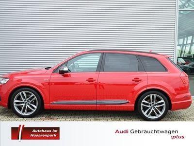 gebraucht Audi SQ7 4.0 TDI quattro +HEAD-UP+DAB+NAVI+BEHEIZB.LE
