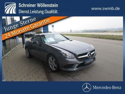 gebraucht Mercedes 200 SLCRoadster Navi/Einparkhilfe/Airscarf