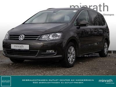 gebraucht VW Sharan Highline 2.0 TSI 7-Sitzer Leder Navi Keyless