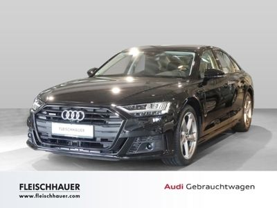 gebraucht Audi A8 50 TDI quattro 3.0 EU6d-T LED Keyless Leder ACC Navi AHK