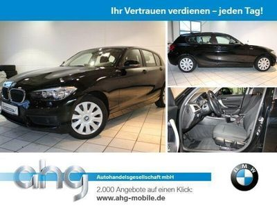 used BMW 116 d Lederlenkrad