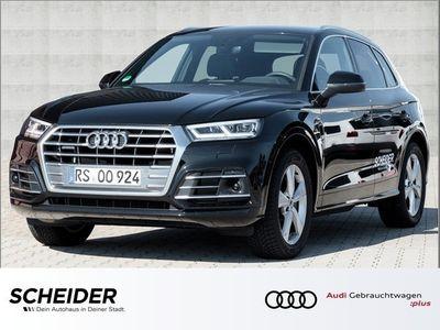 gebraucht Audi Q5 sport 40 TDI Sport Navi LED ACC Luft