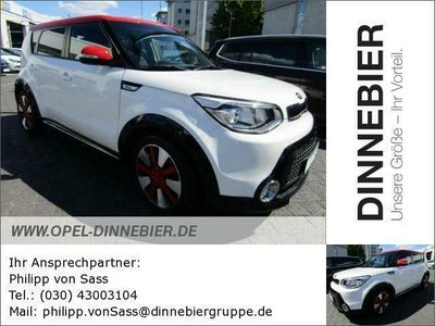 gebraucht Kia Soul 1,6 White&Red Edition