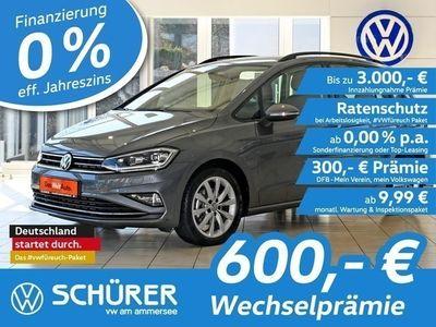 gebraucht VW Golf Sportsvan Comfortline 1.5TSI DSG LED°AHK°Kamera°Navi°ACC°Fr
