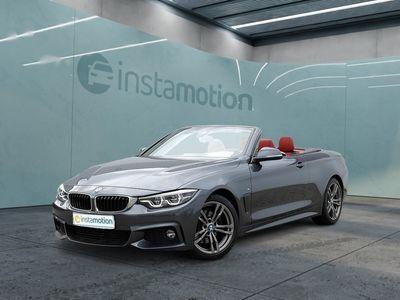 gebraucht BMW 430 430 iA Cabrio M Sport LED+NAVI+HUD+LEDER+KEYLESS+