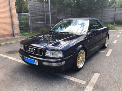 verkauft audi 80 cabrio automatik abs gebraucht 1998 km in spandau. Black Bedroom Furniture Sets. Home Design Ideas