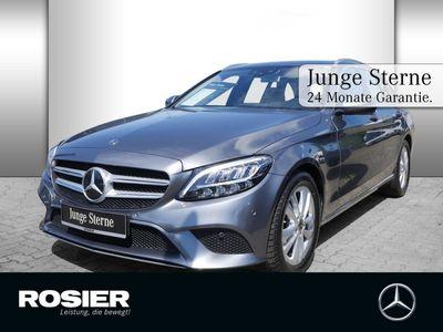 gebraucht Mercedes C180 T Avantgarde 9G Spur+Totw. LED+ Navi Kam.