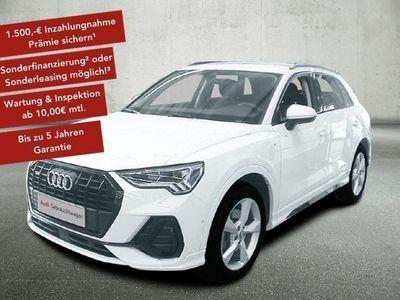 gebraucht Audi Q3 40 TDI S-tronic S line quattro LED Navi LM 18