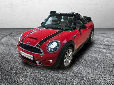 gebraucht Mini Cooper S Cabriolet Aut NAVI+LEDER+CHILI+WIRED+PDC+BI-XENON+H/K+