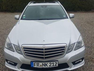 gebraucht Mercedes E300 E-Klasse T-ModellCDI Avantgarde Coman AMG