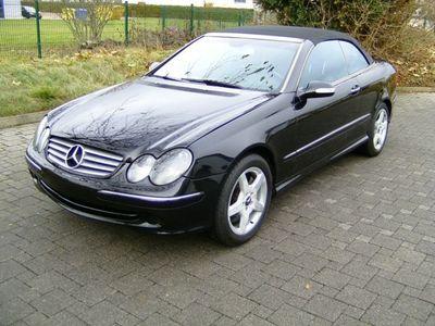 gebraucht Mercedes CLK500 Cabrio 7-G Tronic US-Import (Texas)