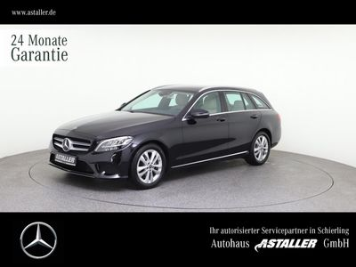 gebraucht Mercedes C180 T Avantgarde+3xAdvanced+DAB+KAM+Spur+LEDHi