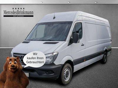 gebraucht Mercedes Sprinter 314 Hochdach lang SHZ/KAMERA/AHK Kamera/Klima