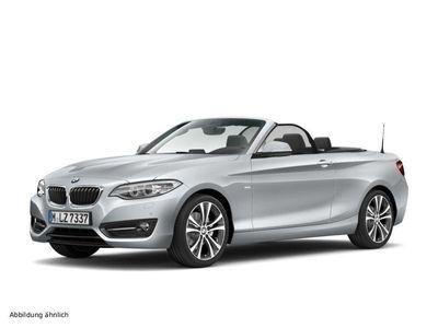 gebraucht BMW 220 i Cabrio Sport Line Aut. Navi Business Xenon