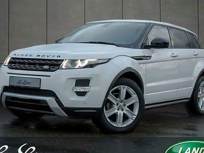 gebraucht Land Rover Range Rover evoque 2.2 SD4 Dynamic Navi SHZ Technikpaket