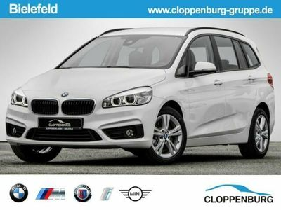 käytetty BMW 220 Gran Tourer d Advantage LED 3.Sitzreihe Navi Temp AHK Klimaa