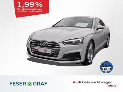 gebraucht Audi A5 Coupé Sport S line 40 TDI S tronic LED/Navi/PDC Plus/