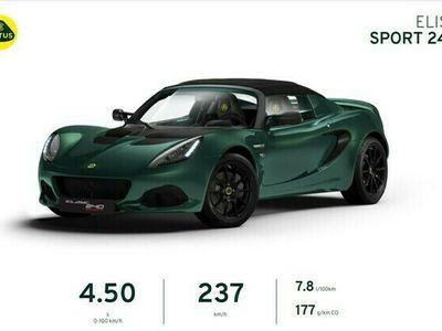 gebraucht Lotus Elise 240 Final Edition Racinggreen Black Pack
