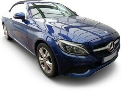 gebraucht Mercedes C200 4M Cabrio AHK Airscarf LED Totw. PTS SHZ A