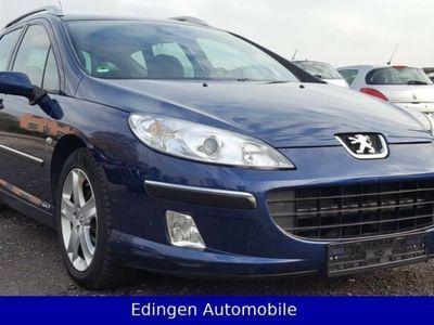 gebraucht Peugeot 407 SW Premium /2.Hand / Klimaaut. / TUV