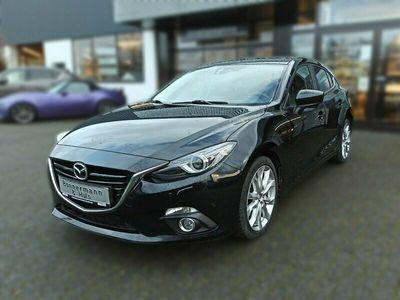 gebraucht Mazda 3 Sports-Line *Bose*Klimaa*Xenon*Navi*