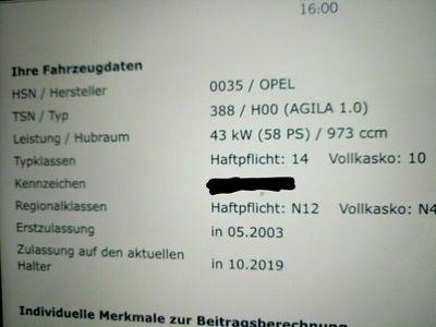gebraucht Opel Agila 1.0 12 V