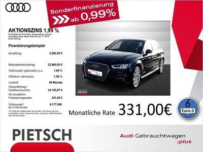 gebraucht Audi A3 Sportback e-tron 1.4 TFSI sport - LED Navi