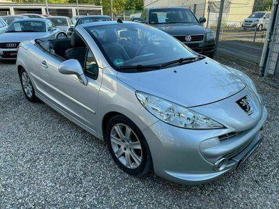 gebraucht Peugeot 207 CC Cabrio-Coupe Platinum *Automatik/TÜV NEU*