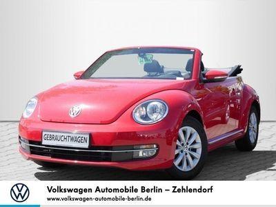gebraucht VW Beetle Cabriolet 2.0 TDI Design Climatronic SHZ Tel. EU6