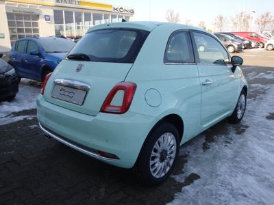 gebraucht Fiat 500 1.2 8V Lounge Automatik Klimaautomatik