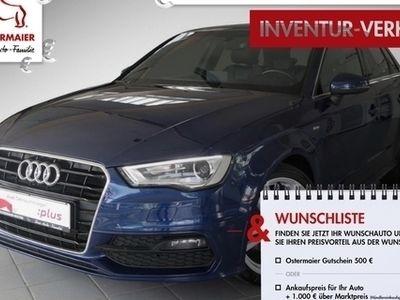 gebraucht Audi A3 Sportback Ambition S-LINE ExP 1.4TFSI S-TRONI T