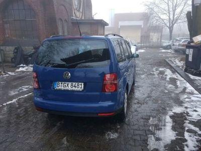 gebraucht VW Touran 7 Sitze TÜV Klima Leder Sehr Gepflegt !!
