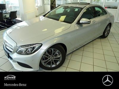 gebraucht Mercedes C220 d Avantgarde 9G*COMAND*LED+ILS*Schiebedach