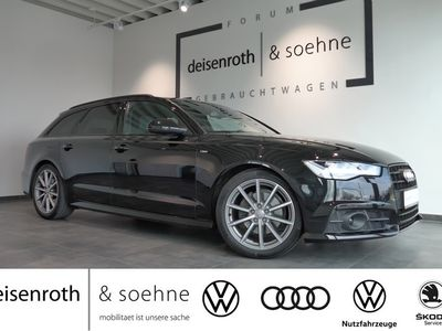 gebraucht Audi A6 Avant S line 1.8 TFSI Navi/ Assist/ EPHilfe/LED/ Black edition