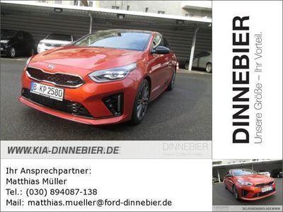 gebraucht Kia pro_cee'd GT 1.6T DCT7 NAV KOMF 5D Vorführwagen, bei Autohaus Dinnebier GmbH