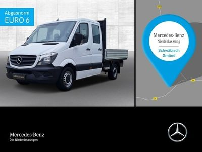 gebraucht Mercedes Sprinter 316 CDI Pritsche+Doka+3-Sitzer+AHK 3,5t