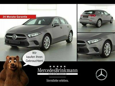 gebraucht Mercedes A180 d PROGRESSIVE/LED/PANO/MBUX/NAVI/BUSINESS
