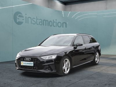 gebraucht Audi A4 A4Avant 50 TDI qu Pano ACC Leder Kamera S line