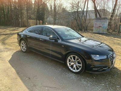 gebraucht Audi A7 3.0 Bi-turbo TDI; S-line 320PS Facelift; Voll