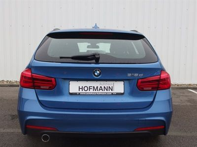 gebraucht BMW 318 d Touring M Sport Sportpaket Navi LED HiFi