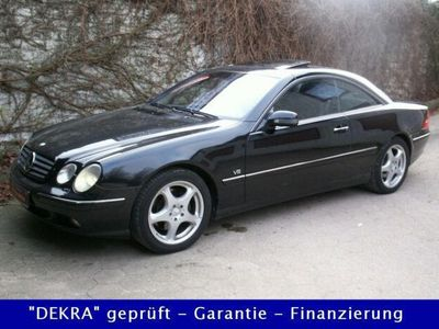 używany Mercedes CL500 Coupe 2.Hand/Vollausstattung/HU bis 10.20