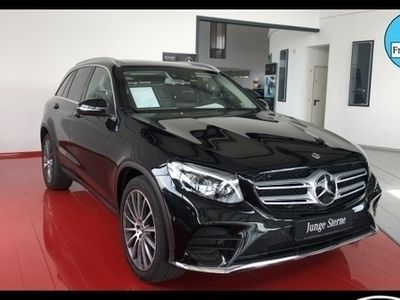 gebraucht Mercedes 220 GLC4M AMG-Line Drive-Pilot+COMAND+ILS+PANO